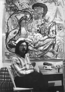 Alfred Klinkan, Atelier München 1986