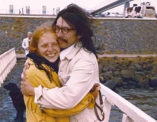 Alfred Klinkan mit Hedwig Klinkan, 1980
